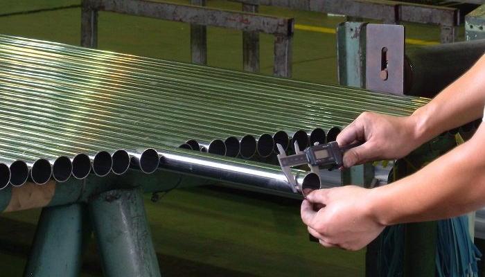 Фото контроль качества нержавеющих труб
